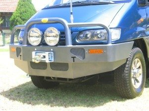 Delica Bullbar & Spotlight Package Deal