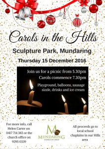 Carols in the Hills 2016