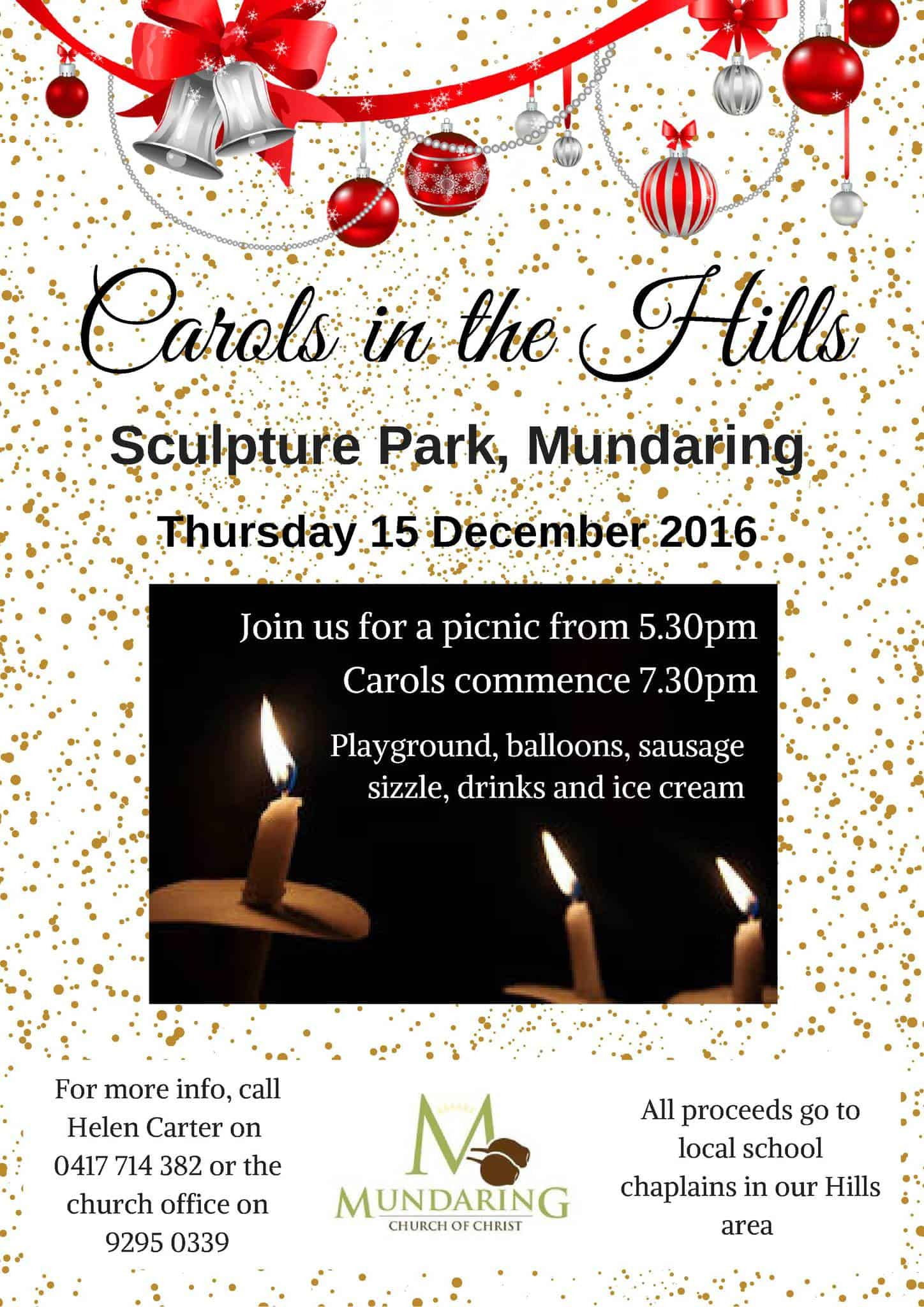 Carols in the Hills carols in the hills