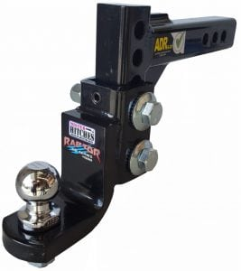 MHABM45 S1 WITH 50MM BALL 267x300 Mister Hitches Raptor the ultimate adjustable hitch